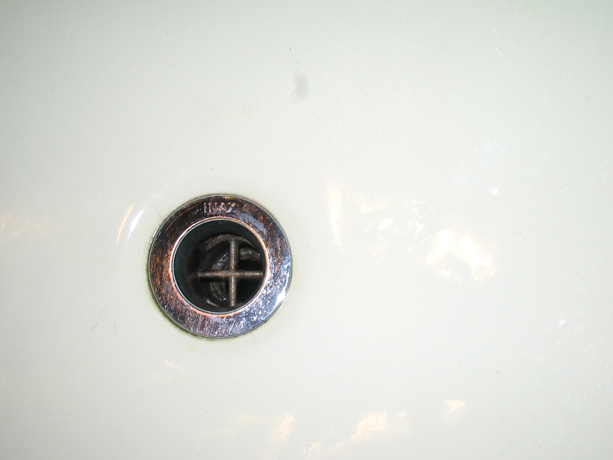 スマートフラッシュを使用した洗浄によって、キレイになりました。
